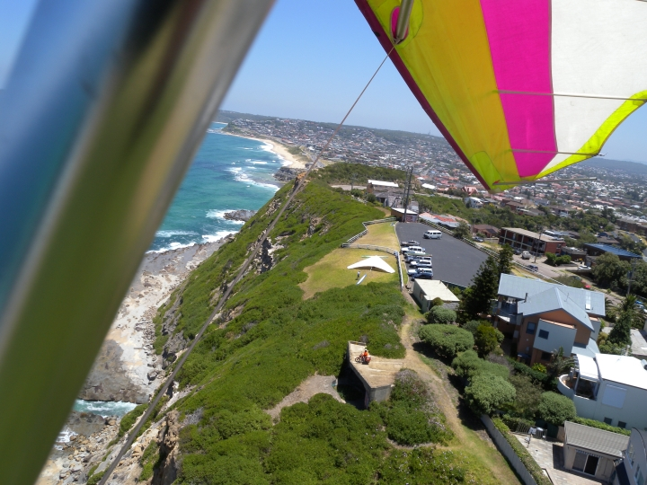 looking back down at scenic lookout launch