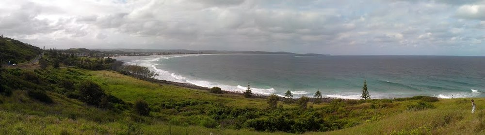 looking from the lennox head launch
