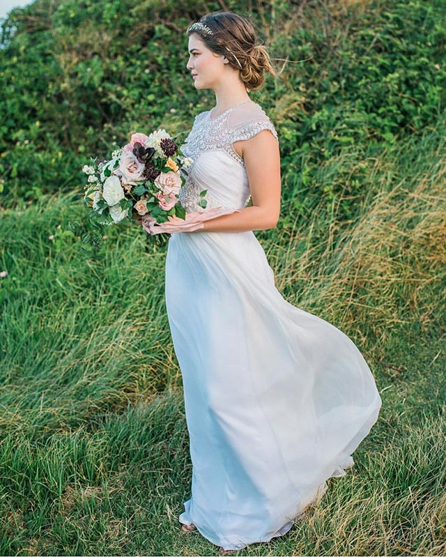 PERTH BRIDES - Gwendolynne Collection Launch at our new stockists @bridesselection starts Monday!  Dates: 13th to 18th June  To book your appointment please call (08) 9228 1288  This @Gwendolynne gown pictured in this stunning windswept seaside series by @lovenotephoto will be coming to WA too! ・・・ #Photography | @lovenotephoto #Flowers | @trillefloral  #Gown |@gwendolynne  #Dress #Style | #GwendolynnePatience #HMUA |@mjpromakeup  #Headpiece |@bridelaboheme  #Model |@emilymazzottaa  #styledshoot #gwendolynne #weddingstyle  #flowers  #artdecowedding #vintagewedding #weddingbouquet #bridal #bride #bridestyle #bohobride #fineartwedding #fineartbride #filmisnotdead #weddingdress #perthbrides