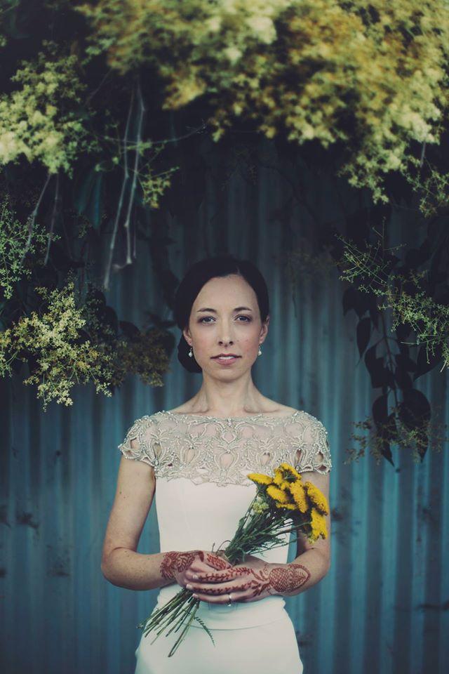 Anna wearing the Freya wedding dress by Gwendolynne - image - i got you babe1.jpg