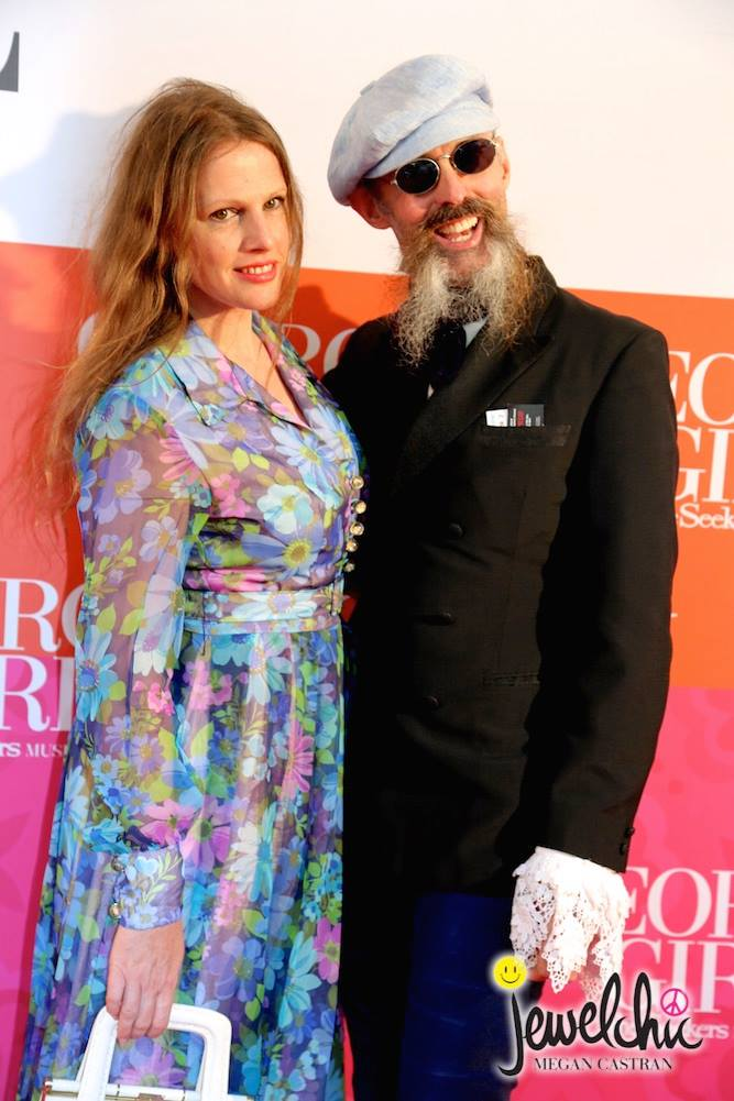 Gwendolynne Burkin  and Richard Nylon  Opening Her Majesties Theatre .jpg