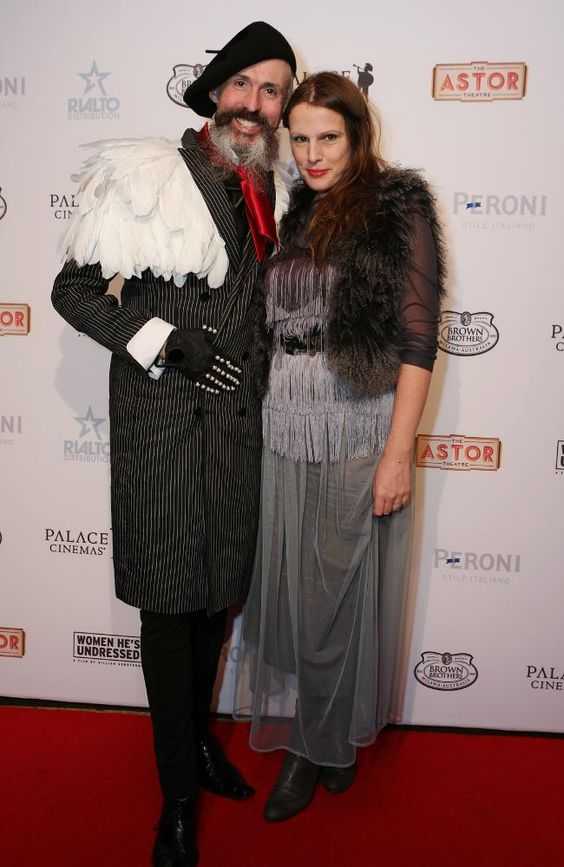 Gwendolynne Burkin  and Richard Nylon The Astor Cinema Opening Red Carpet.jpg