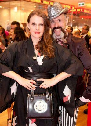 Gwendolynne BUrkin and Richard Nylon Uniqlo Opening .jpg