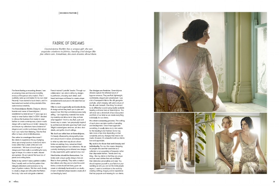 Gwendolynne Marissa wedding dress - White Magazine