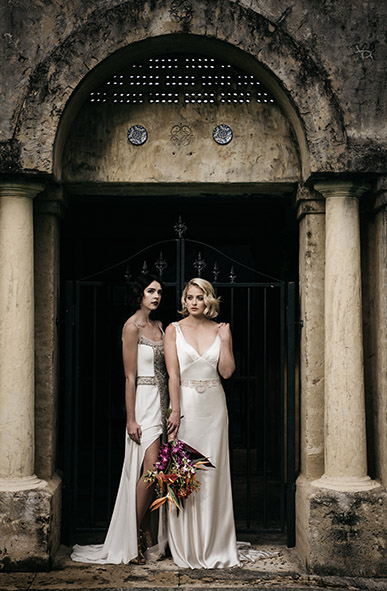 Yasmina and Tasha Gwendolynne Wedding Dress Designer Melbourne EMPIREWeb(268).JPG