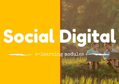 social digital professional e-learning modules