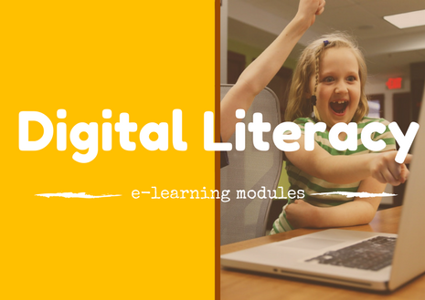 digital literacy professional e-learning modules