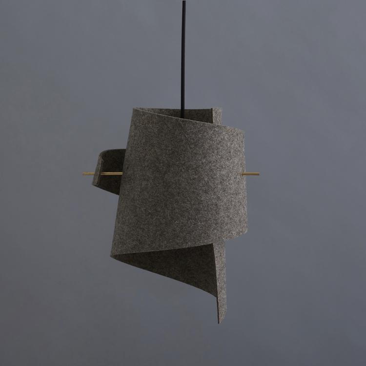 ML01 Wood Felt Back  Designet af Kristoffer Munk   Virksomhed:   Moijn