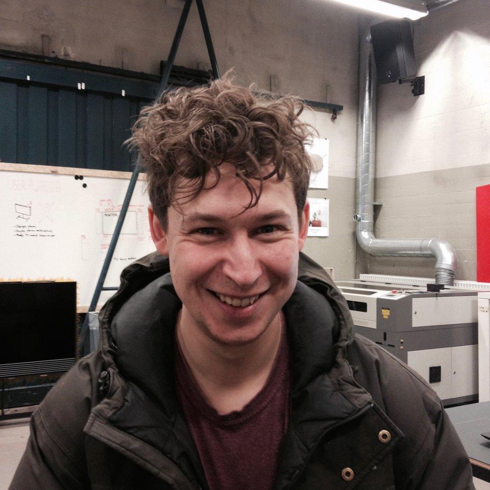 Jakob K Jessen Ingenior and 3D printer master