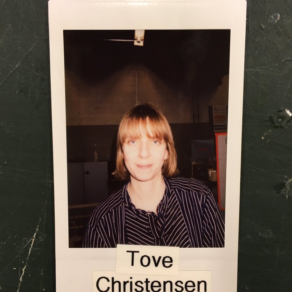 Tove Christensen - Member & Leather SmithMaker Skills: Laser Cutting, leathery, Sewing