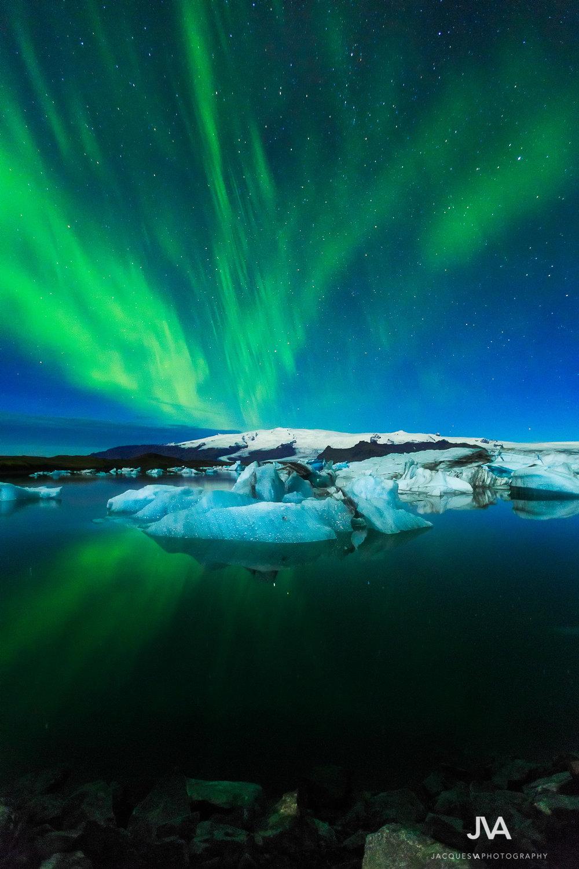 Jokulsarlon Aurora