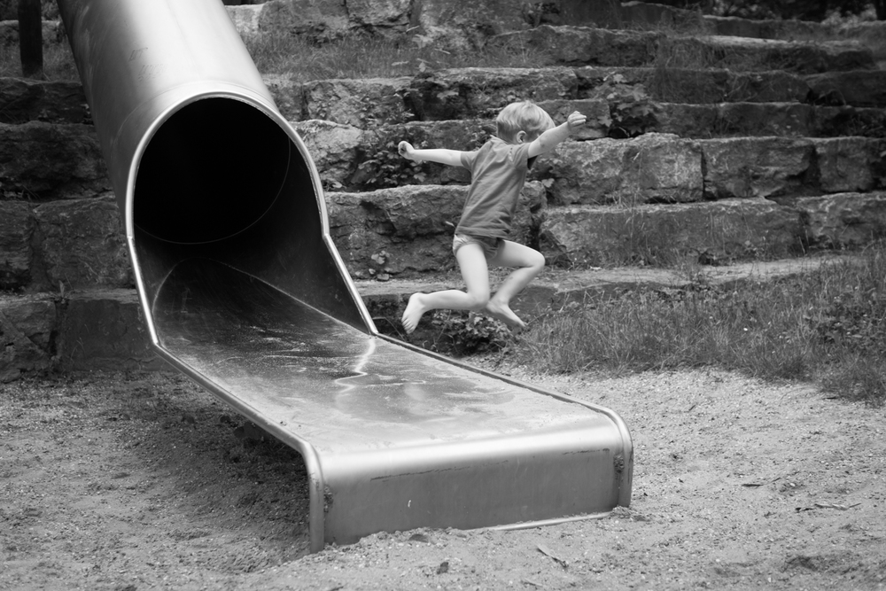slide jumper, 35mm, f/2,8, 1/200Sek., ISO 100