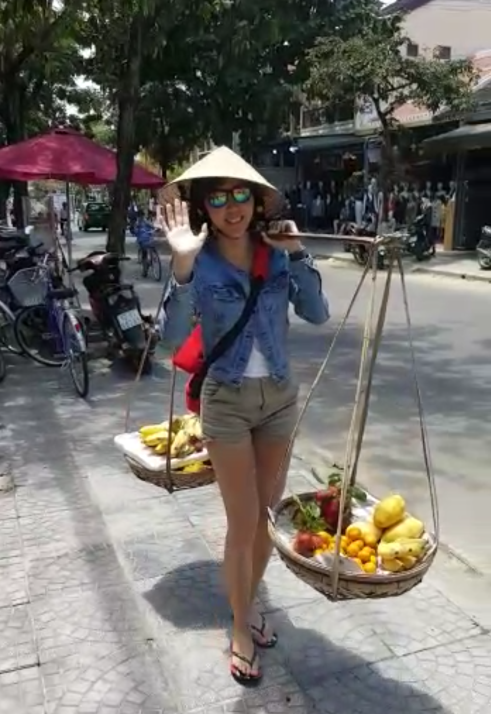 Alright, and please don't ask me how is life with the Air Force anymore because I'm selling fruits in Vietnam now.