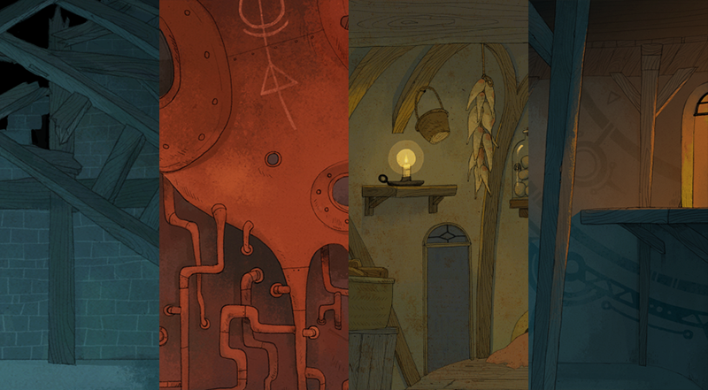 Here are some (sneak peeks) of few of background images
