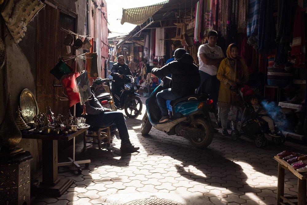 5. Narrow lanes inside the Medina