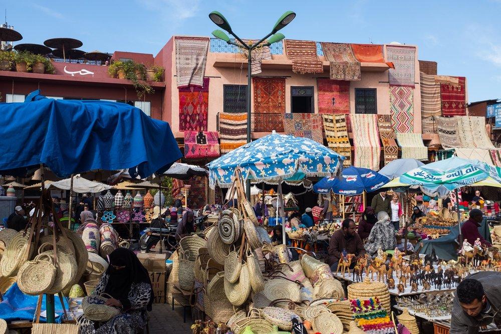 6. Open market area