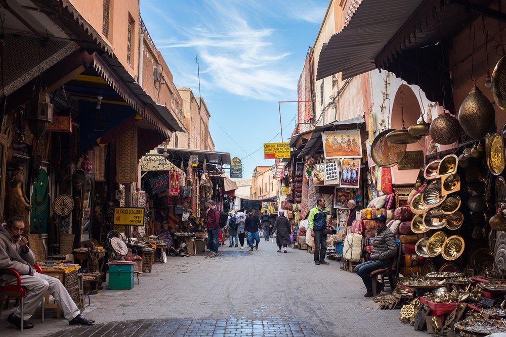 1. In the Medina