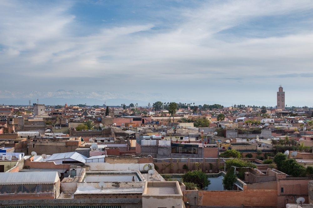 9. Rooftops of Marrakech