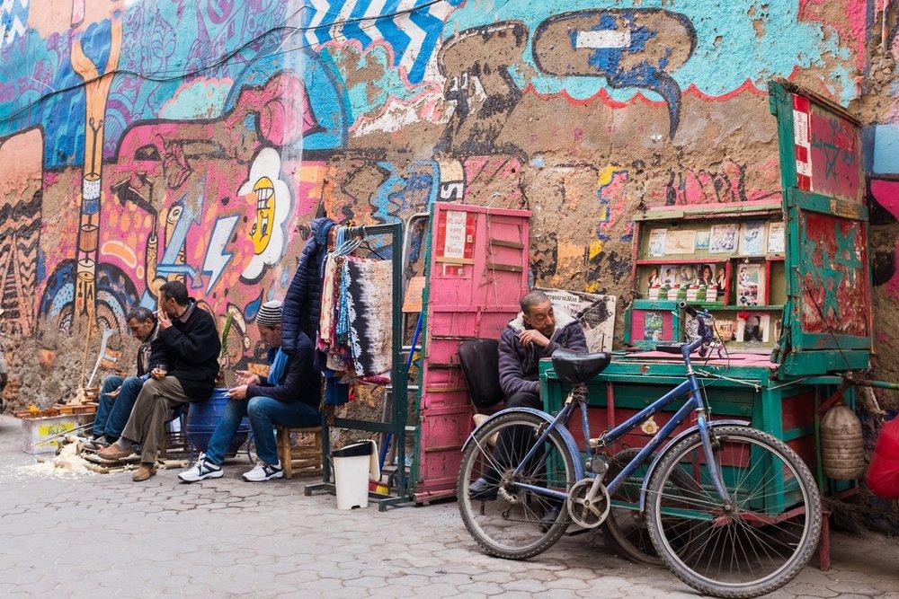 11. Street scenes