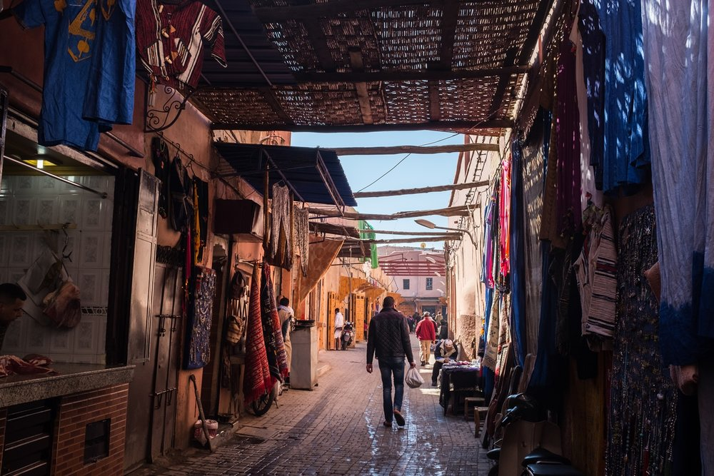 15. Lanes of the Medina