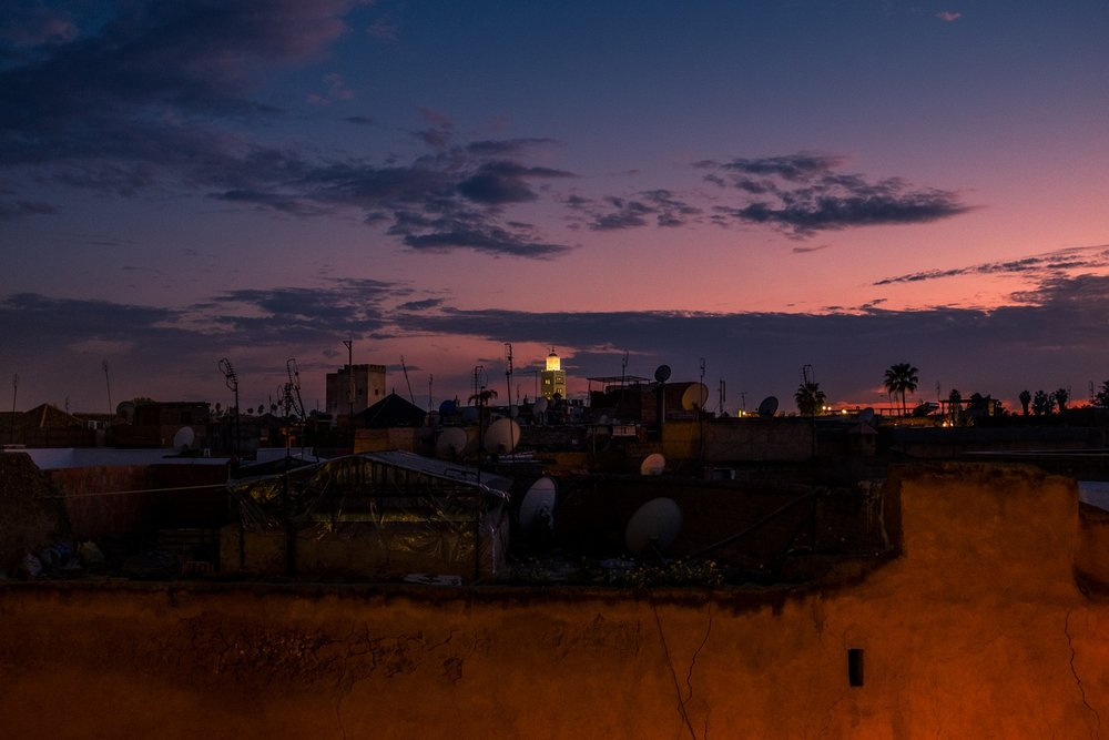 29. Sunset in the Medina