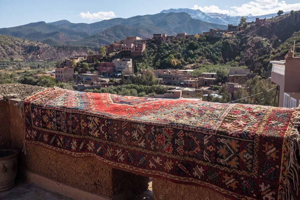 View from the Berber village and museum