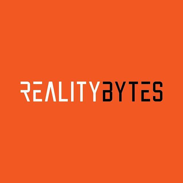Custom logotype designed for Reality Bytes, a Chicago-based virtual reality company.