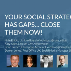 Close Your Social Strategy Gaps title slide