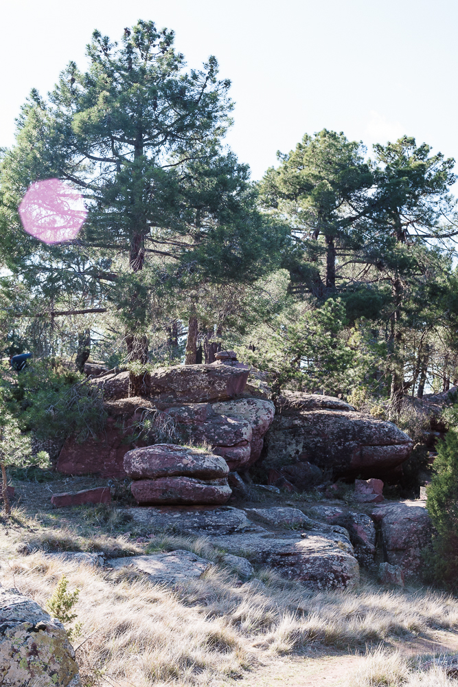 Boulders in Albarracin.
