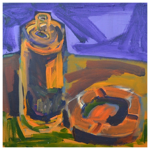 The Beer, 2009, 40x40 cm