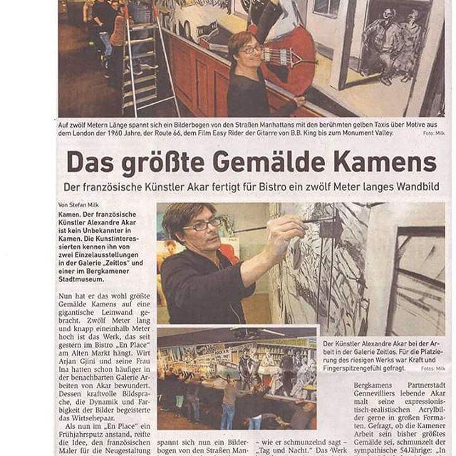 Presse allemande, 2016