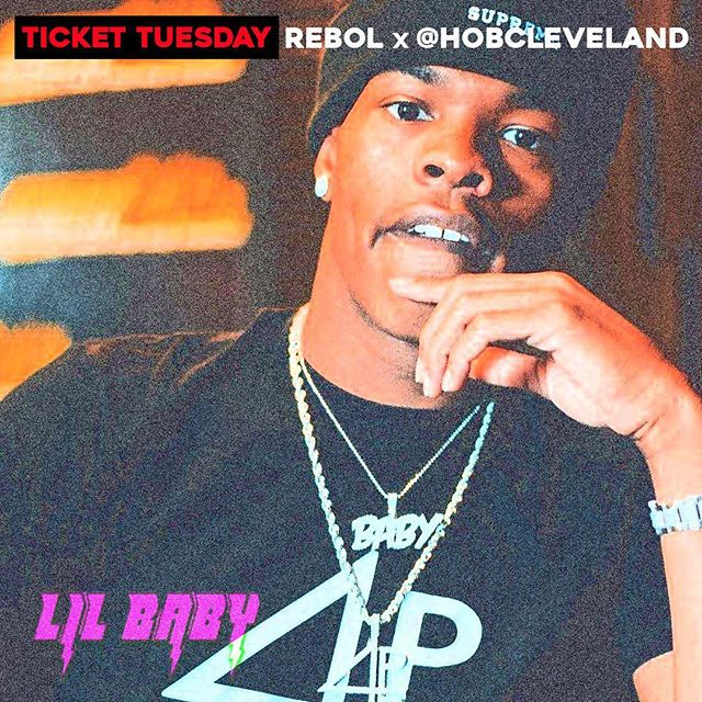 Ticket Tuesday! We've partnered with our friends @HOBCleveland to give away a pair of tickets to the @LilBaby_1  show on 8/29! How to enter: 1. Follow us and @HOBCleveland 2. Tag 3 friends in the comments section below. Winner will be announced on Friday at 5 pm! #Rebol