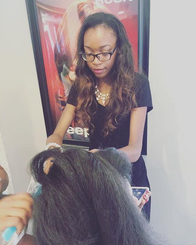 Book w a student stylist and receive 50% off all services!!! #BeautySchool #Hair #StudentStylist #HairAppointment