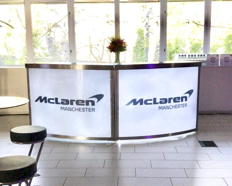 McLaren Bar, Manchester