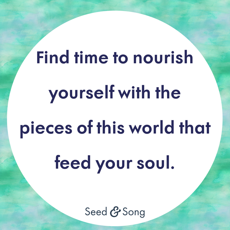 10 Self Care Quotes For Motherhood Seed Song