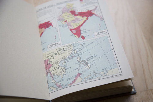 World atlas vintage wedding guestbook the vintage binding co tumblrnwhicx53ox1tolap1o51280g gumiabroncs Images