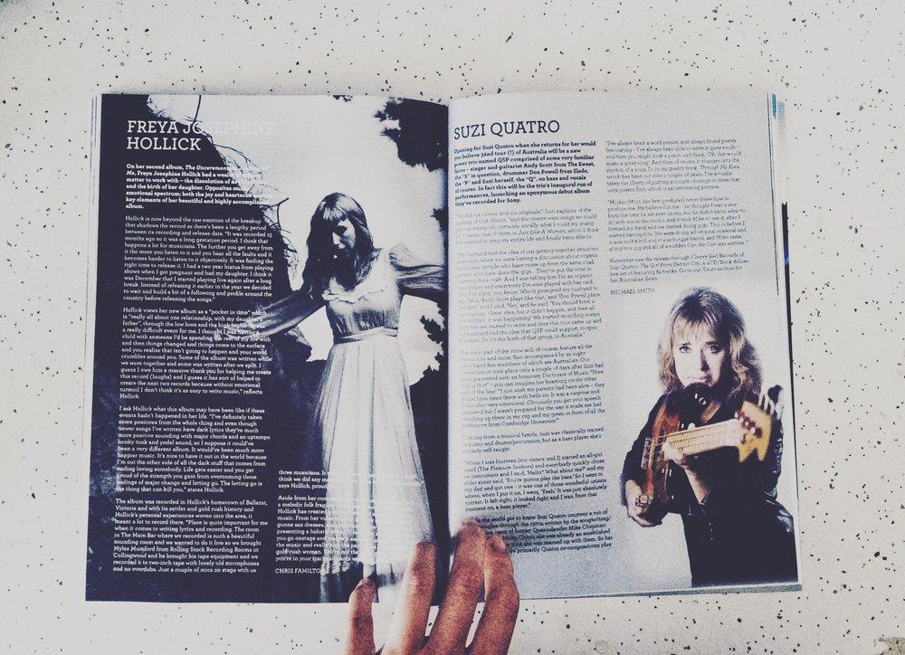 Interviews Freya Josephine Hollick