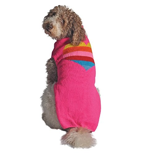 ( 6 ) Chilly Dog Heart Sweater for Dogs