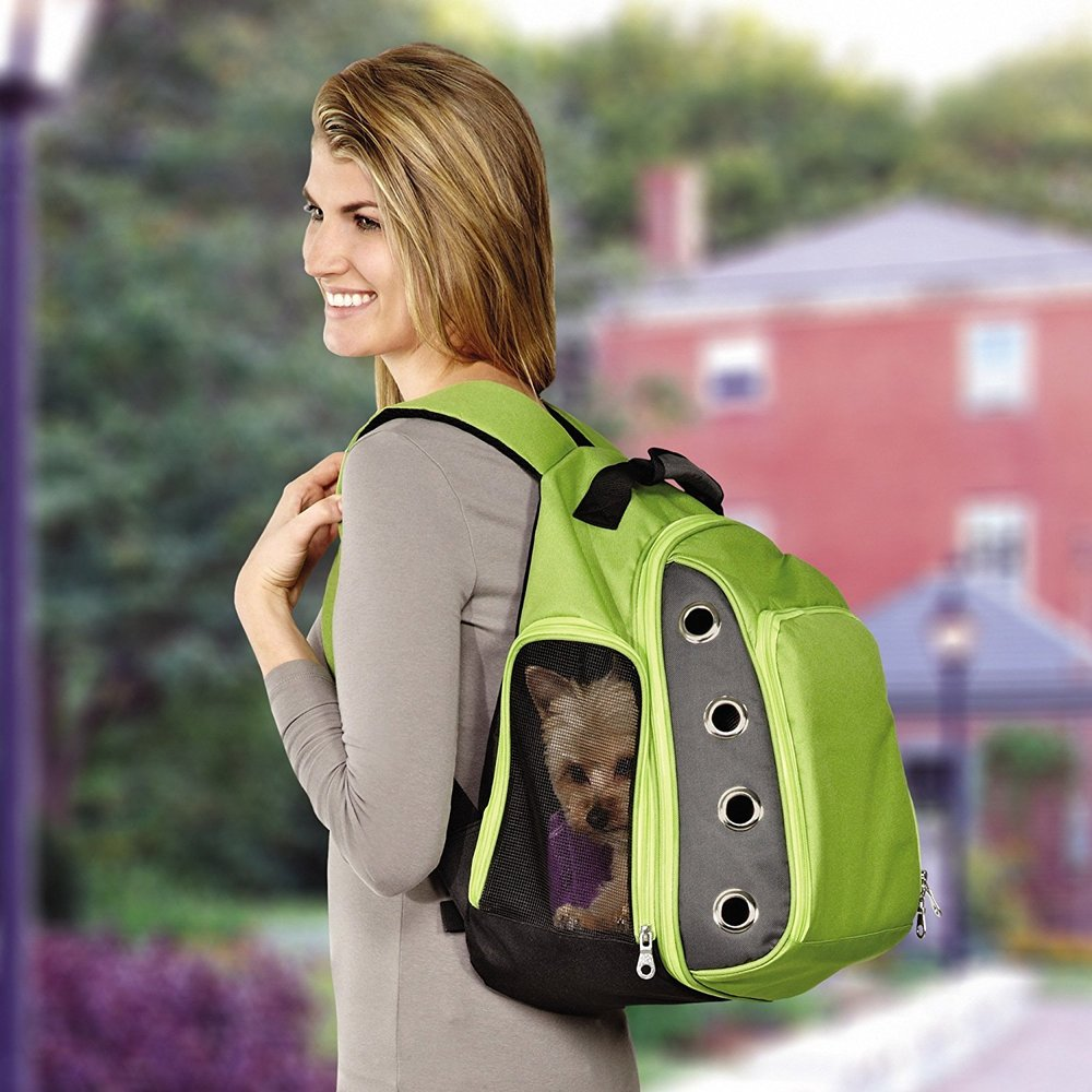 Casual Canine Ultimate Backpack Carrier.  BUY NOW