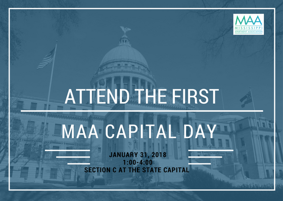 Meet & greet with your local representatives and help educate them on MAA and the impact our industry makes!  There is no cost to attend, but you must preregister and attend conference call 2 weeks prior to discuss our talking points