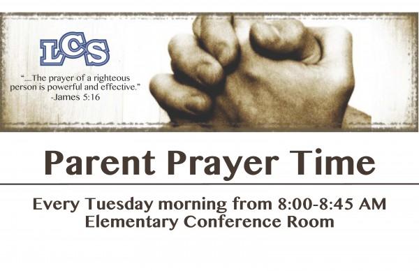 Parent Prayer Time