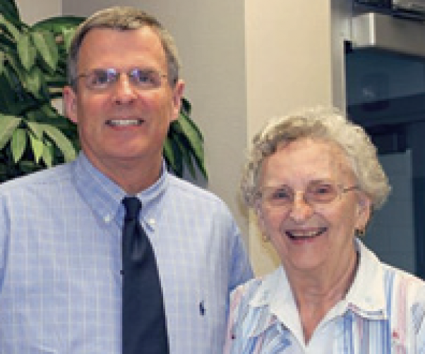 Dr. Mike Sligh and Evelyn Wheeler Towler