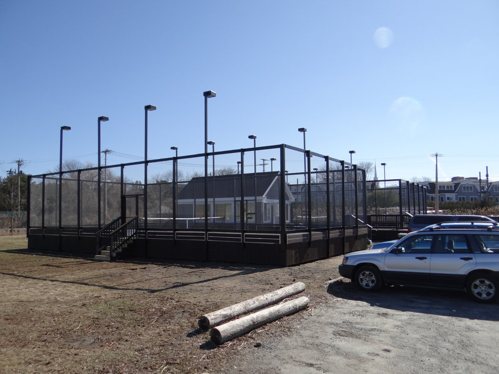 Stonington Zoning Board OKs additional paddle tennis courts for community center