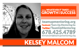 - kelsey malcomDirector of Education(678)-425-4789info@teamupmentoring.org