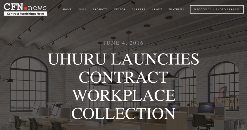 CONTRACT FURNITURE NEWS