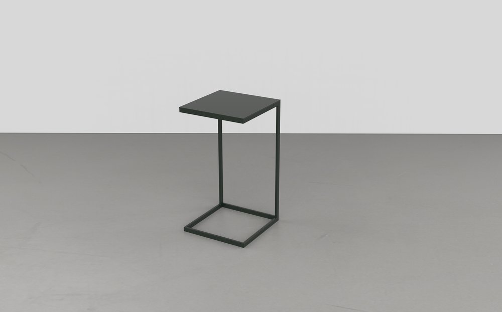 CANTILEVER END TABLE   METAL
