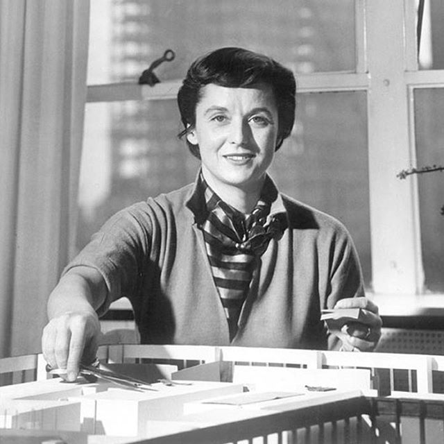 """I am not a decorator"" - Florence Knoll. It's true, she was a design visionary who shaped the look and feel of the modern office standard and what we here at Uhuru strive to create. #florenceknoll ⠀ ⠀ ⠀"