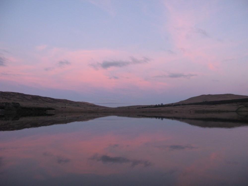 Loch Urr Evening