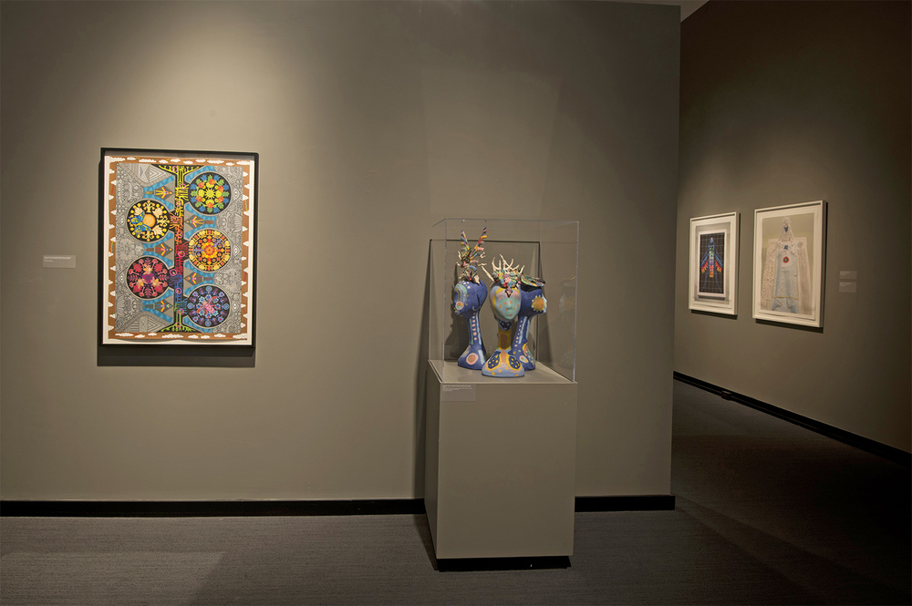The Empathics  Installation shot of the show Montclair Art Museum Photo credit: Peter Jacobs 2012
