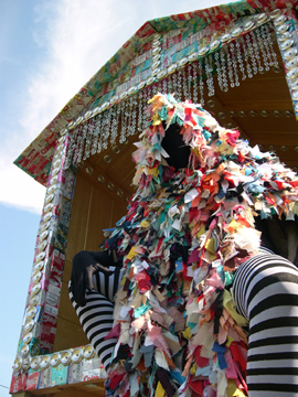 Terra de Lixo/The Land of Garbage  Outdoor Sculpture 2005